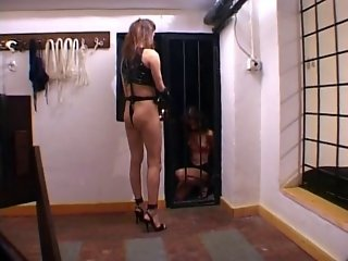 BDSM Mistress Anne Franklin is in Charge - Bangie
