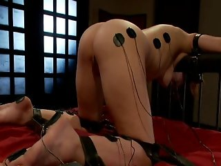 Redhead Gets Brutally Electrocuted, Tortured & Fucked (JLTT)