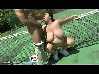 BBW Wife Rikki Fucks Stud Tennis Instructor