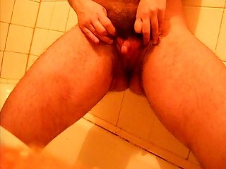 Hairy woman with big clit2
