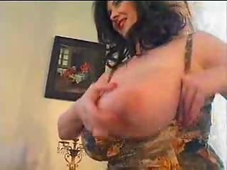 Chubby MILF with Huge Natural Saggy Boobs Fucked