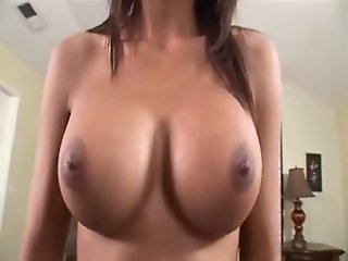 Busty Latin Teen Fucked on Dad's Bed