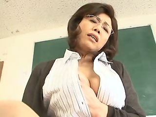 Teacher saggy tits