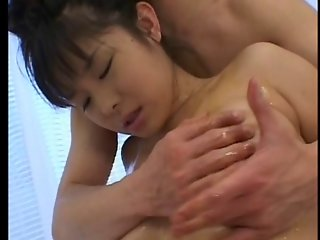 Shapely Japanese Beauty Gets Creampie