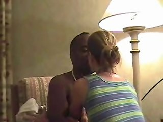 Black Bull Fucks & Cuckold Hubby Cleans - Super Amateur