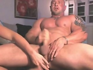 Girl fucks guy with vibrator