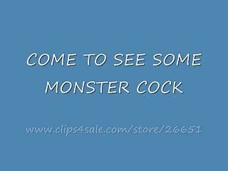 MONSTER 12 INCH BLACK COCK