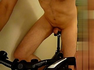 I love to ride my bicycle (male anal insertion) part 1