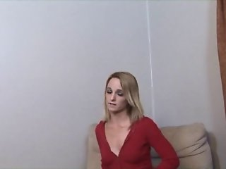 Banging his skanky slim blonde stepdaughter with puckered butthole