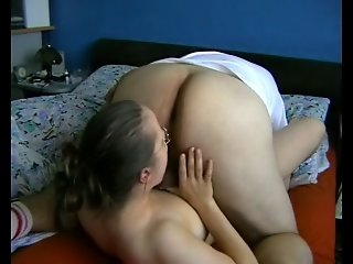 Anal with busty german 3