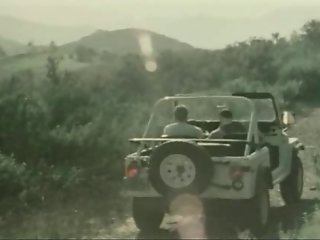 Vintage hairy jeep suck