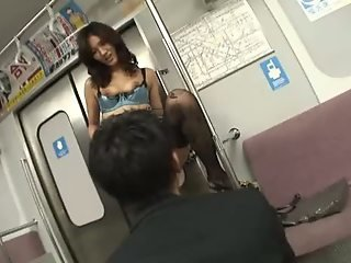 Japanese sex on train