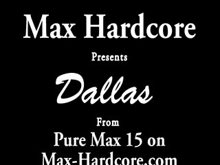 Dallas Gets Drilled and Destroyed by Max Hardcore