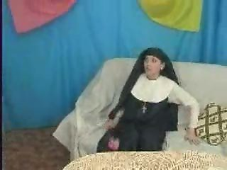 Nun at work 4