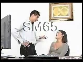 Secretary Babe Does Her Boss SM65