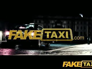 FakeTaxi Young innocent and willing to suck for cash