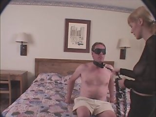 Girl Blindfolds Guy & Fucks Him