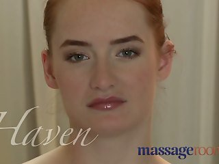Massage Rooms Young blonde and red head get deep orgasm