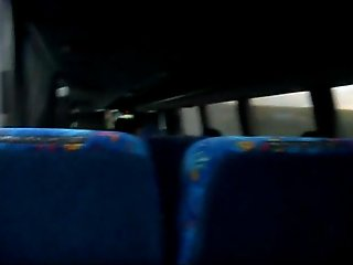 Jerk off in the bus