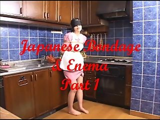 Japanese Bondage & Enema - Part 1