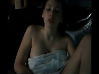 Caught Masturbating Webcam!