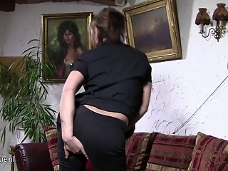 Real housewife masturbate while husband away