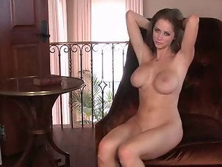Natural Busty shows body