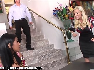 Young Latin Teen Seduced By Her Bosses