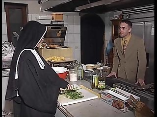 Nun seduction...