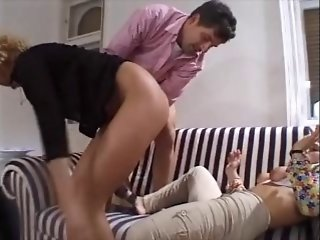 2 matures hard kinky a2m by lucky guy