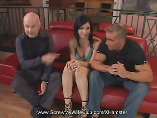 Swinger Wife Gets Fucked As Hubby Watches