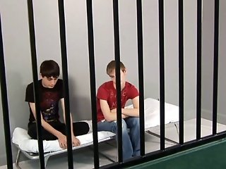 Zack and Evan in Prison Gay