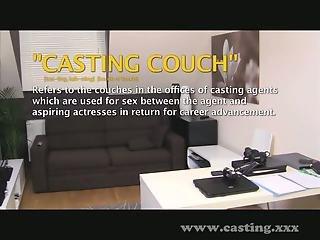 Casting - Surprise creampie doesn't go down well