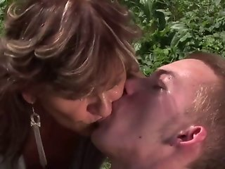 Granny and a country boy 02
