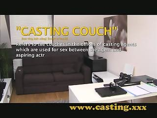 Casting - Anal creampie for cooky babe
