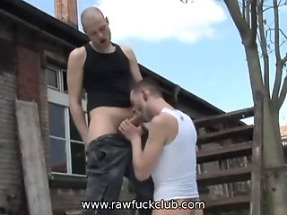 Suck My Monster Cock Outdoors