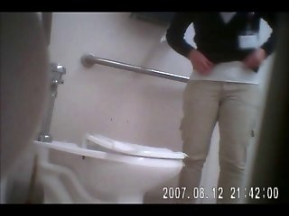 Hidden Cam in girls bathroom
