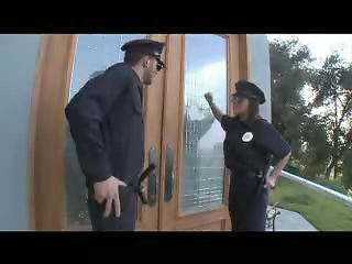 P.A.W.G POLICE OFFICER GETS A BIG COCK IN HER ASS