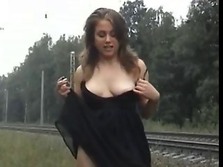 Russian public nudity
