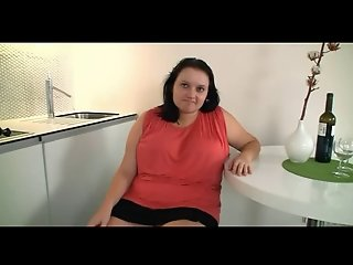 Hot fuck in the kitchen