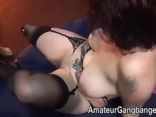 Mature amateur housewives used as fucktoys
