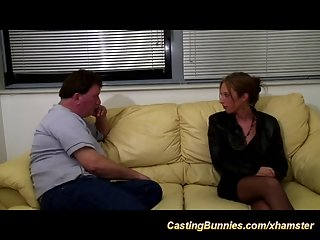 Her first anal casting video