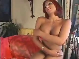 Shemale jerk off & cumshot