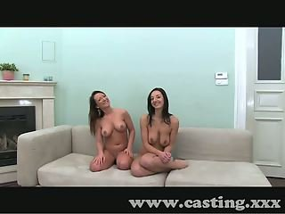 Casting Two pairs of tits