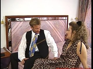 BBw fucked in hotel by manager