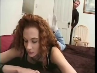 Sexy Curvy And Curly Haired Babe Fucked Hard