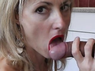 Naomi1 and Nico fuck in the kitchen