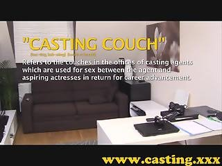 Casting - Creampie for insanely tight pussy