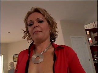 MILF slut doing a horny guy