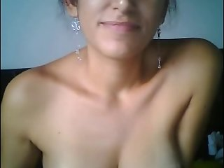 Colombian hot girl showing pussy and ass wide open